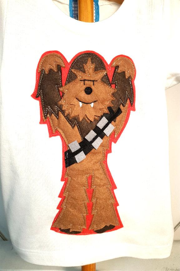camiseta-infantil-de-chewbacca