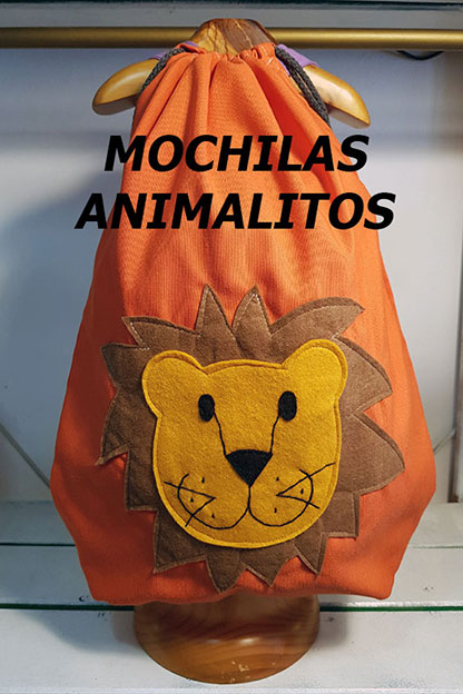 mochilas animalitos
